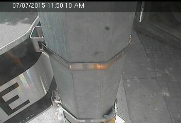 Webcam Rue Pearl @ Rue Dover - Caméra de circulation montrant la Rue Pearl, au...