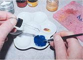 Egg Tempera Paint | www.eggtempera.com Make your own paints using egg yolk as a binder. Might be fun for older kids.