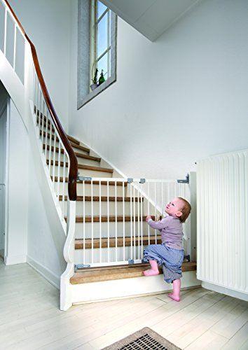 awesome BabyDan-Barrera de seguridad extensible en metal color…