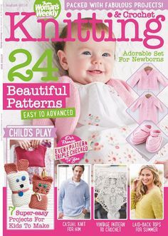Knitting & Crochet from Woman's Weekly №8 2016