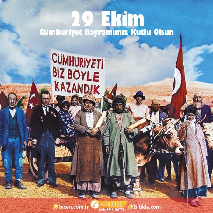 29 Ekim 2014 # 91. Cumhuriyet #Bayramımız kutlu mutlu olsun! İLELEBET!
