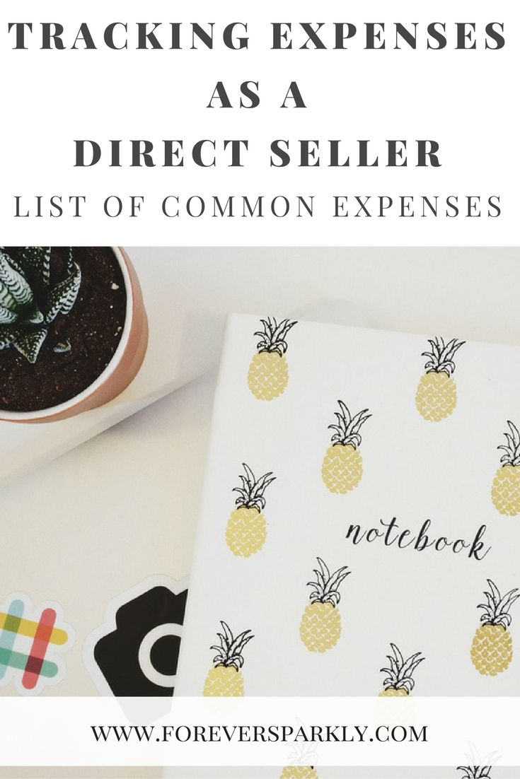 Are you in the business of direct sales? Tracking expenses for your direct sales business is crucial. Click to find out how to start today! via @owlandforever