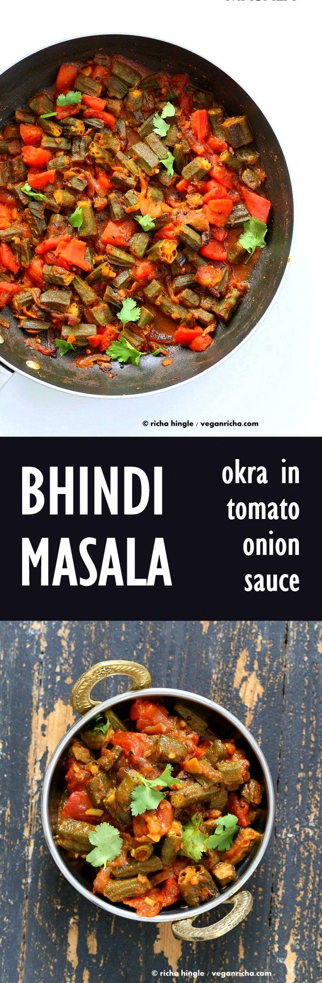 Bhindi Masala Recipe – Okra in Onion tomato Curry