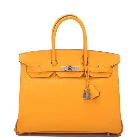 c6b234e992a0 Hermès Birkin Hss So Bi-color Jaune D or and Sanguine Epsom 35cm Yellow  Leather Satchel. Save big on the Herms Birkin Hss So Bi-color Jaune D or  and ...