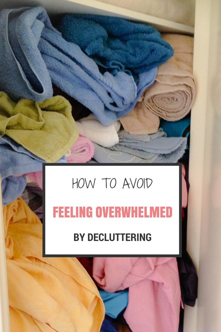how to avoid clutter at home