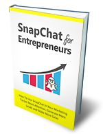 """Snapchat For Entrepreneurs eBook With MRR.  Discover How To Use Snapchat In Your Marketing To Get More Attention, Generate More Leads and Make More Sales""""....Here's what you'll discover in the Snapchat for Entrepreneurs guide:  Why Snapchat is one of the best marketing channels   How you can increase the amount of followers you have on Snapchat   Effectiveness: 15 Tips for Getting More From Snapchat   How to better connect with your customers...& Much More."""