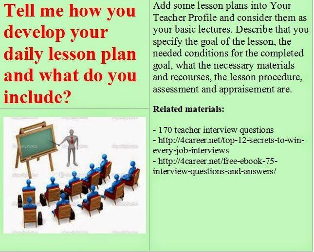 15 best images about math teacher interview questions on Pinterest ...
