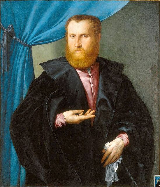 Lorenzo Lotto, Portrait of a Bearded Man (c. 1530-5), New Orleans Museum of Art