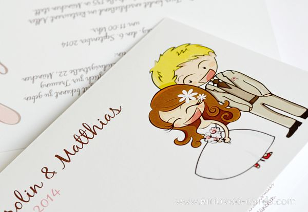 Sposi a Fumetto per Inviti Matrimonio_Original Wedding invitation by e-MoVeo Cards #Wedding #card #Original #idea #Cute #Süß #Hochzeitseinladung #originelle #Einladung #Comic #Einladung #Invito #Fumetto #Invito #Partecipazione #Nozze #Idea #Matrimonio #Originelle #Idee #Hochzeitsideen #idea #originale