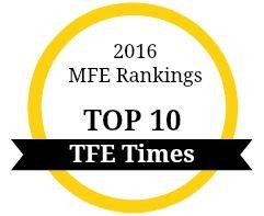 2016 Financial Engineering Rankings