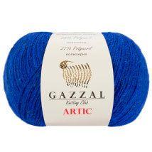 Gazzal Artic Mavi El Örgü İpi - 06