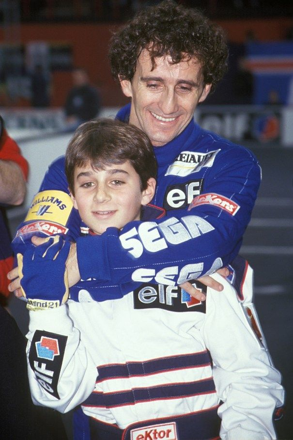 Alain and Nicolas Prost
