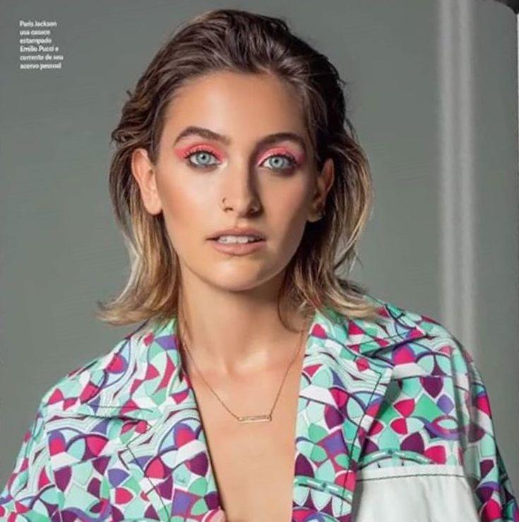Paris Jackson Vogue Brazil January 2018
