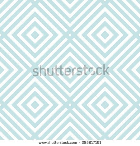 Linear pastel blue on white geometric seamless pattern with rhombuses. Geometrical thin line checkered diagonal ornament, background. Wrapping paper, wallpaper, web site, textile. Vector illustration.