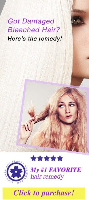 bleached hair remedy