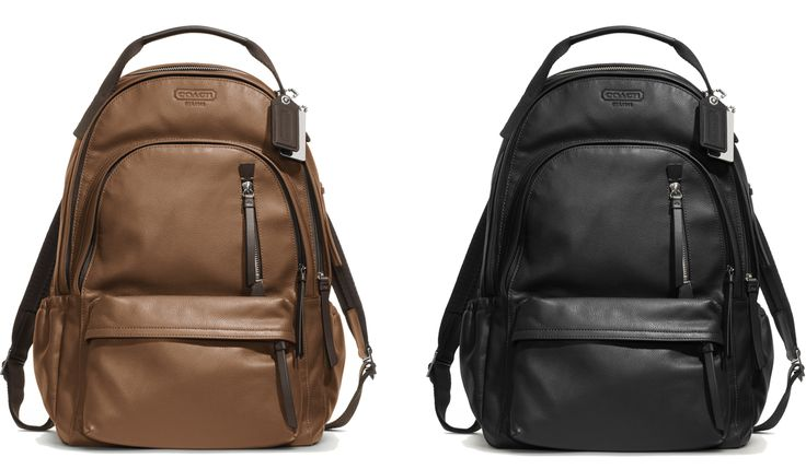 Coach Thompson Leather Backpack - Giveaway