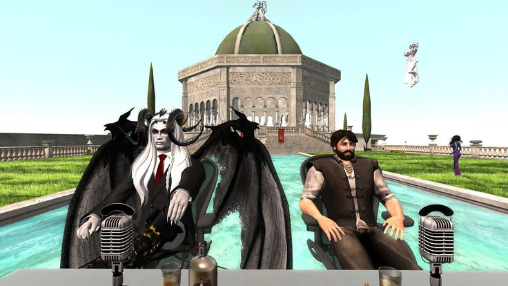 Alia's Jail and Bail Event - David and Zander | by Avariel Falcon