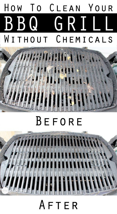 How To Clean A Greasy BBQ Grill – No Chemicals Required!