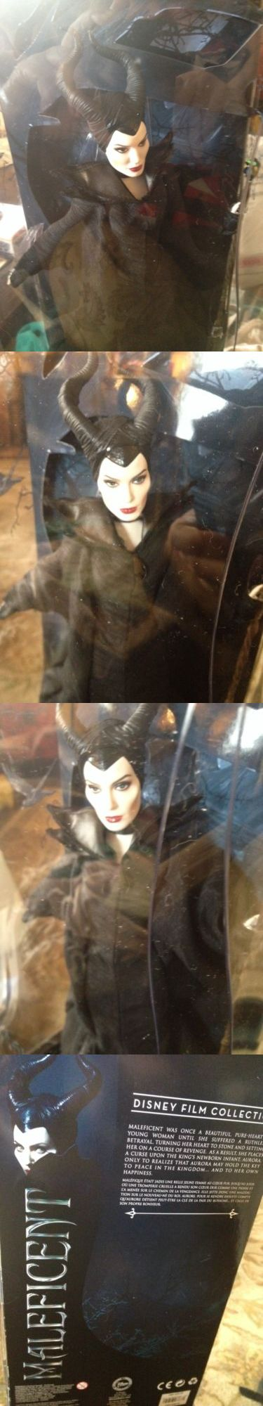 Disney Villains 166789: Disney Maleficent 2014 Movie (Angelina Jolie) 12 Collector Doll - Nib -> BUY IT NOW ONLY: $99.95 on eBay!