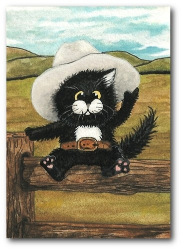 22 best Cowboy cats and dogs images on Pinterest | Funny ...