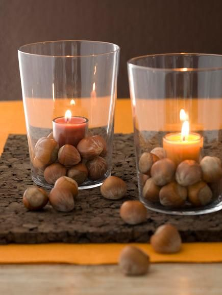 17 best images about thanksgiving decorating on pinterest for Acorn decoration ideas