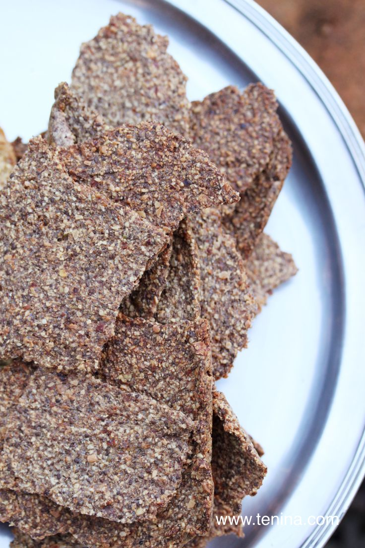 Nutty Seeded Crackers - Cooking with Tenina