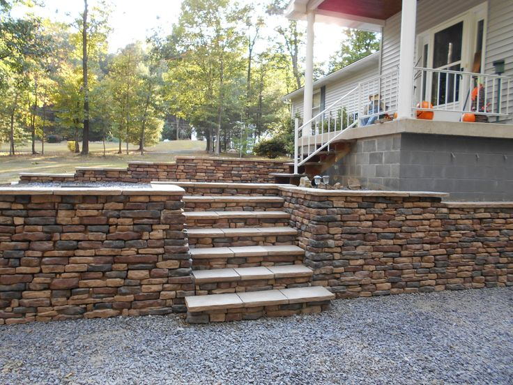 17 best images about retaining walls and blocks on for Block wall foundation