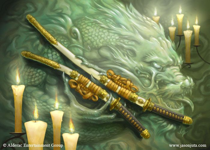 l5r | The Celestial Agonies: L5R 4E - Samurai Weapons