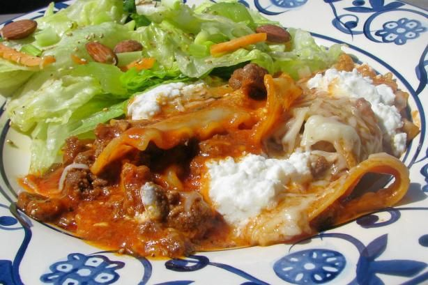 Lasagna in a Skillet - in About 30 Minutes!