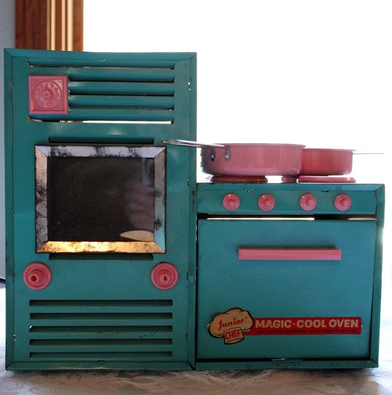 Junior Chef Magic Cool Oven by InTheBusinessOfCool on Etsy, $42.00