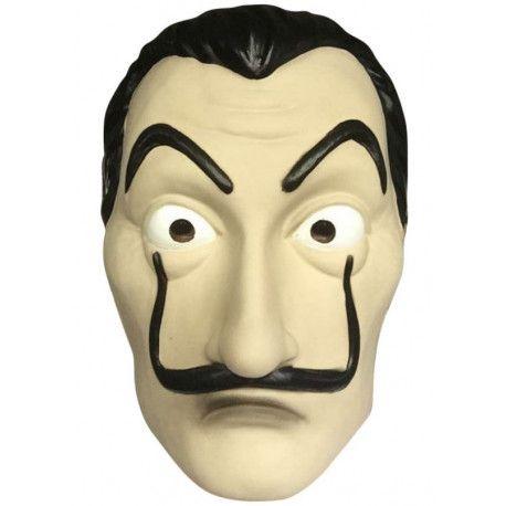 Máscara de Dalí de Ladrón de Papel