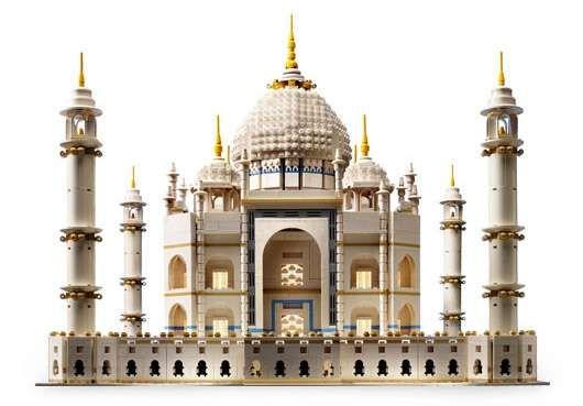 Lego World Wonders.Lego Taj Mahal is Biggest Commercial Lego Set Ever.