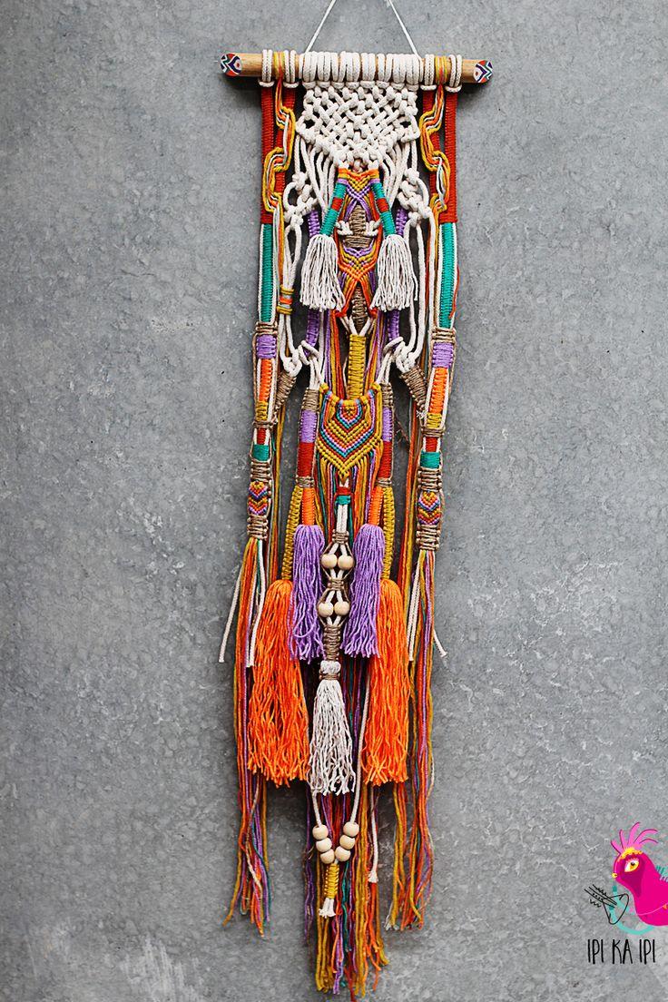SADJA macrame wall hanging by IPI KA IPI #wallhanging #macrame #weave