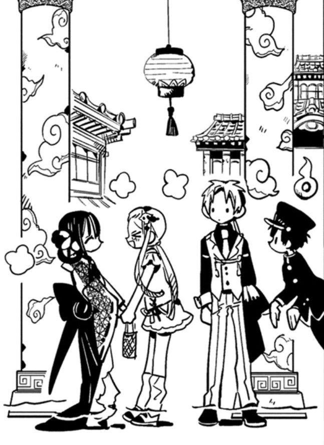 pin by 𝙨𝙝𝙞𝙣𝙠𝙪𝙣 on 地縛少年花子くん jshk dark anime anime manga