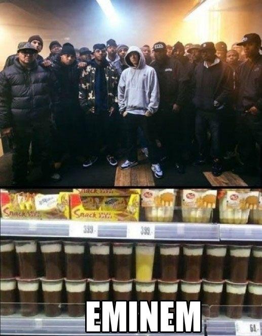 Así se ve a Eminem en el mundo del rap