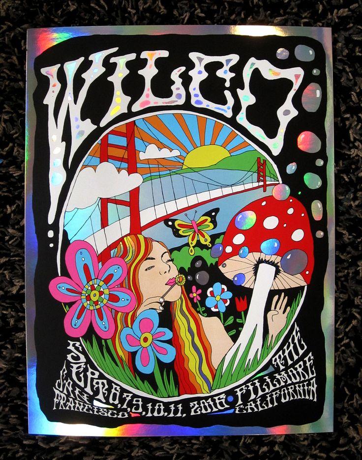 Wilco - Fillmore Theater San Francisco Gig Poster