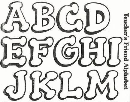 Moldes Letras Minuscula Para Imprimir Graffiti