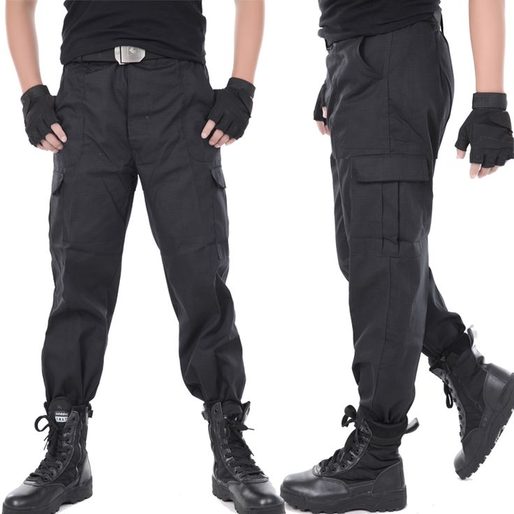 Men Cargo Pants Army Military Tactical Working Pants Men Combat Trousers Clothes Thin Black Training Pantalon. Click visit to buy #CargoPants
