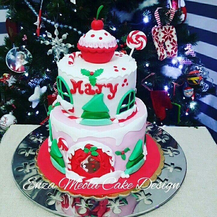 torta di compleanno Natalizia