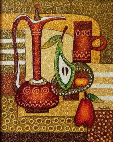 Картины (живопись) : Натюрморт две груши