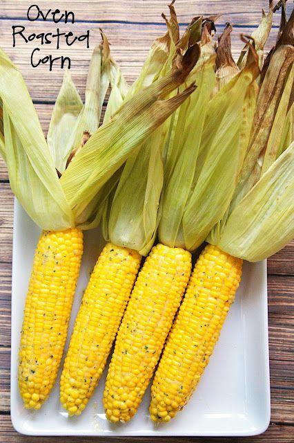 Plain Chicken: Oven Roasted Corn