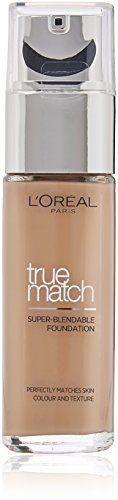 From 6.99 L'oreal Paris True Match Foundation 3.c Rose Beige 30 Ml