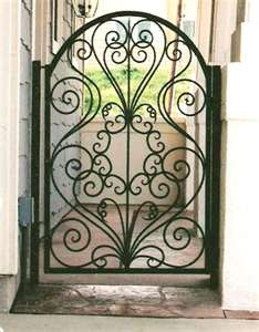 Design iron gates - wrought iron gates  I need this! Perect what I was looking 4