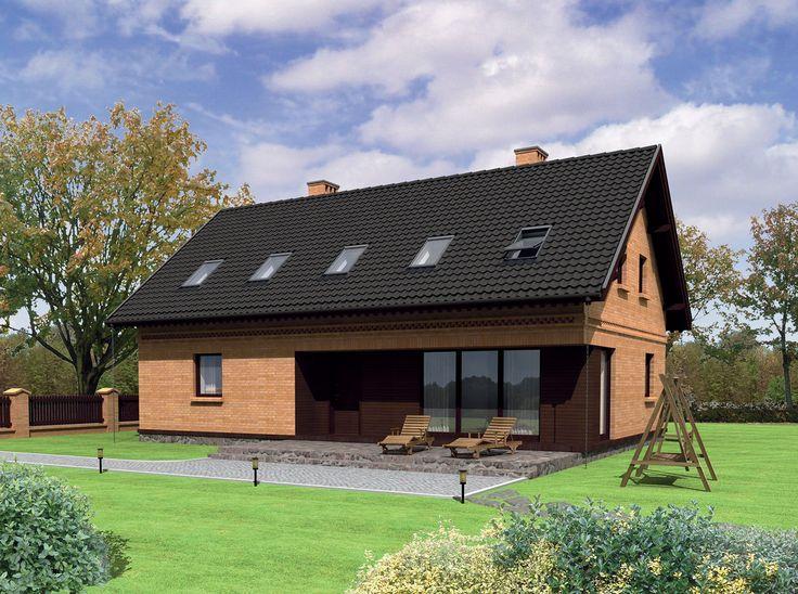 """Projekt domu """"Ustronie"""" został wyróżniony w konkursie """"TWÓJ DOM – dialog z tradycją"""", na dom nawiązujący do architektury Warmii i Mazur."""