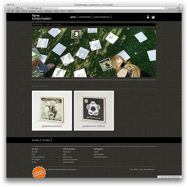 formbilderladen relaunch