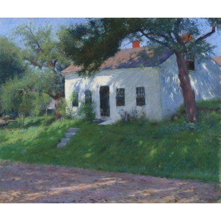 Roadside Cottage Canvas Art - (24 x 18)
