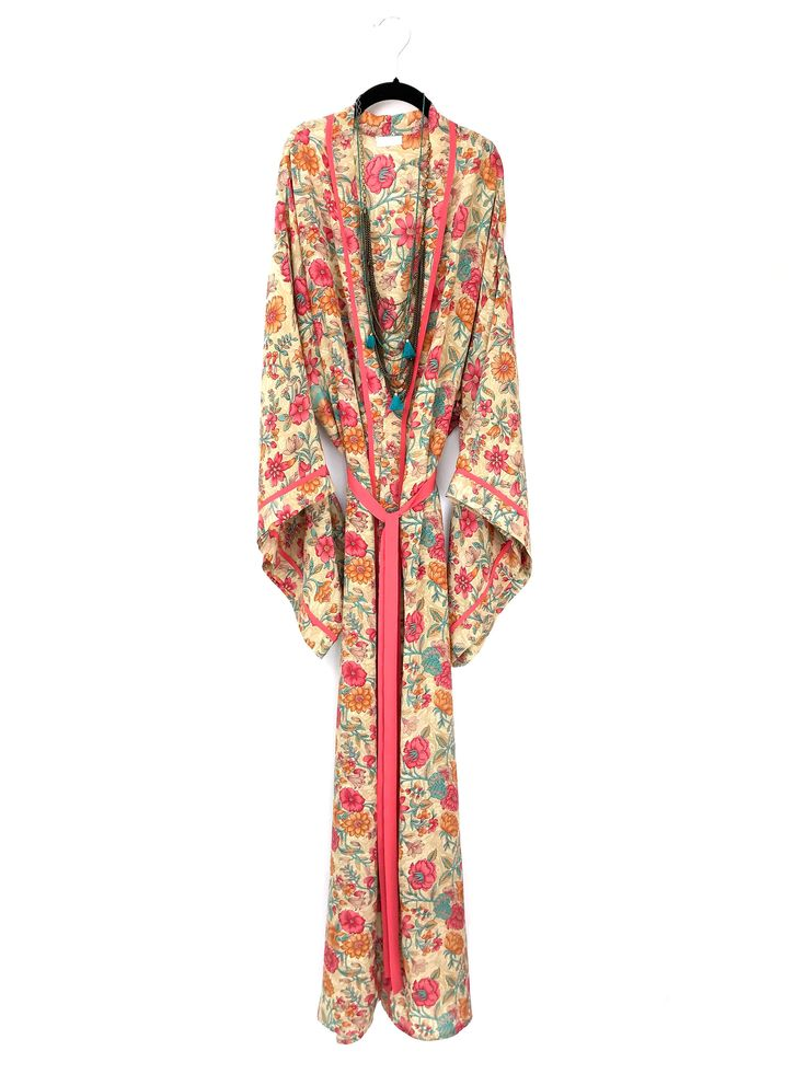 A personal favourite from my Etsy shop https://www.etsy.com/uk/listing/511474080/maxi-midi-or-short-length-silk-kimono