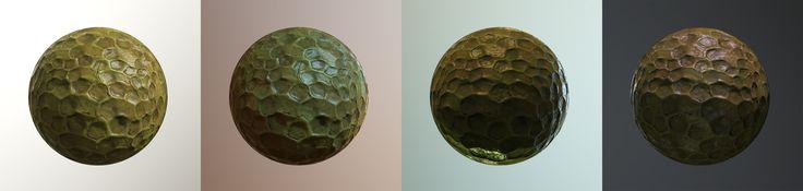 ArtStation - Tileable Texture - Alien Structures, Oliver Schümann