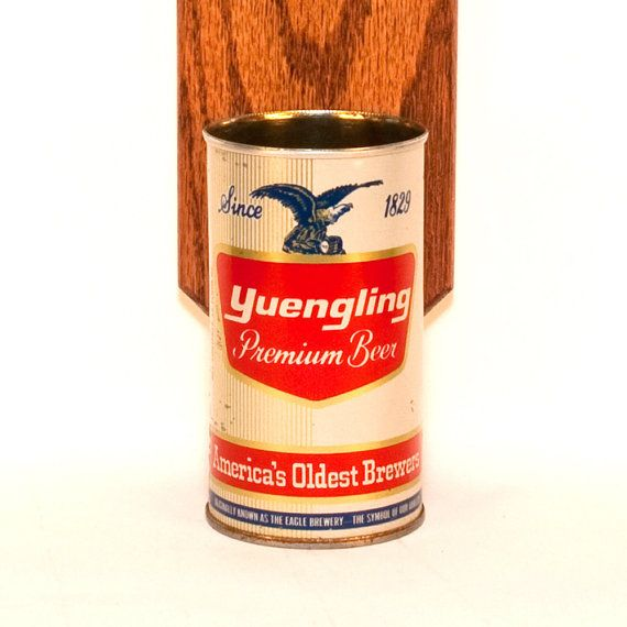 Wall Mounted Bottle Opener with Vintage Yuengling Beer by HandySam, $37.00