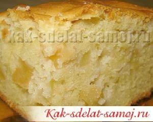 Как приготовить пирог сяблоками и смородиное